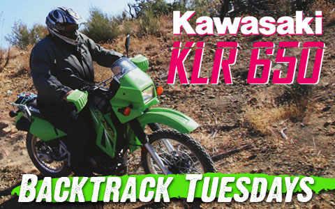 Backtrack Tuesdays: 2006 Kawasaki KLR 650