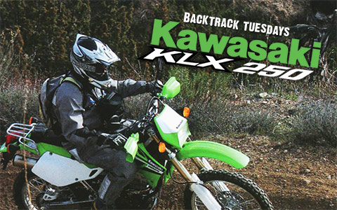 Backtrack Tuesdays: 2006 Kawasaki KLX250 Review