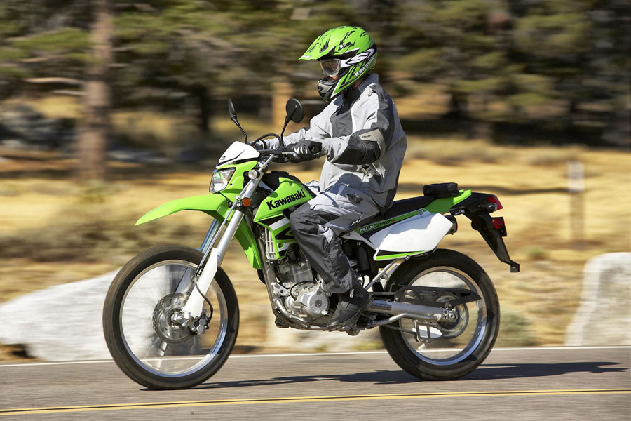 test ride 2009 kawasaki klx250s bikes reviews