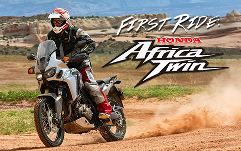 A True Adventure - 2016 Honda Africa Twin