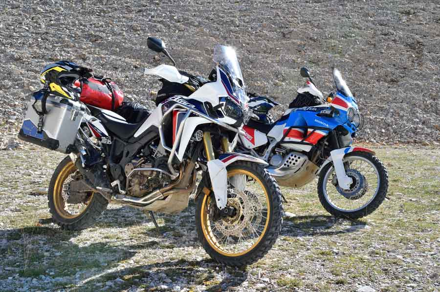 First Ride 2016 Africa Twin Bikes Reviews
