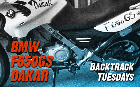 Backtrack Tuesdays: 2001 BMW F650GS Dakar
