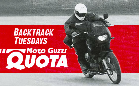 Backtrack Tuesdays: 2000 Moto Guzzi Quota Review