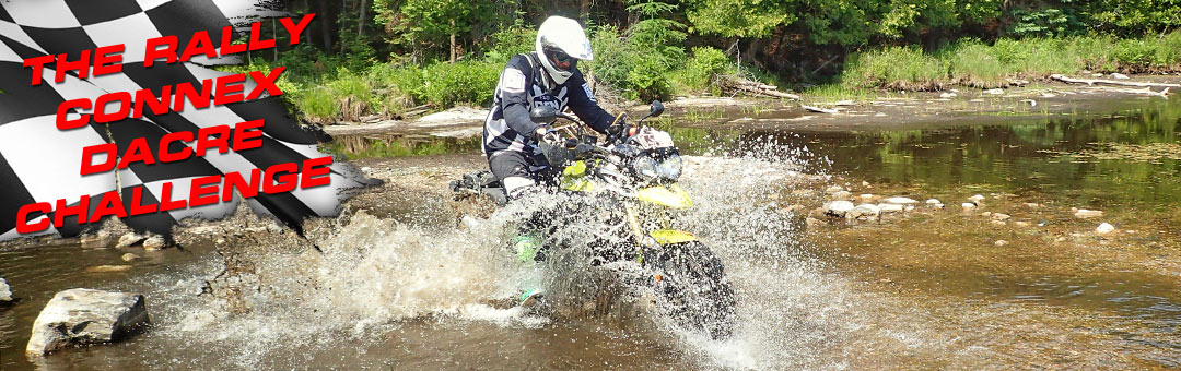 The Rally Connex Dacre Challenge: ADVMoto and RevZilla Go Rally Racing - and WIN Canada!
