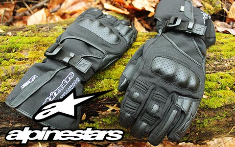 2016 Alpinestars Apex Drystar Gloves: Great Gauntlets for Watery Weather