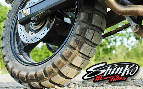 Shinko 804/805 Adventure Trail Tires