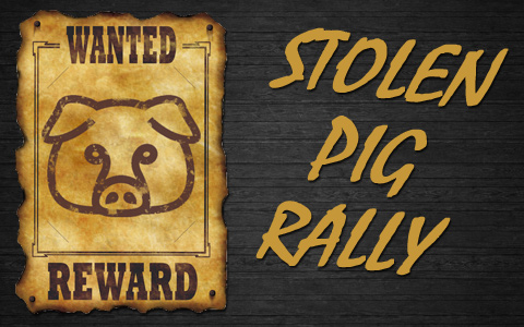 2nd Annual Stolen Pig Rally at The Real McCoy Trails