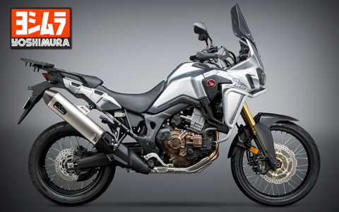 Yoshimura Introduces 2016 Honda Africa Twin RS-4 Exhaust