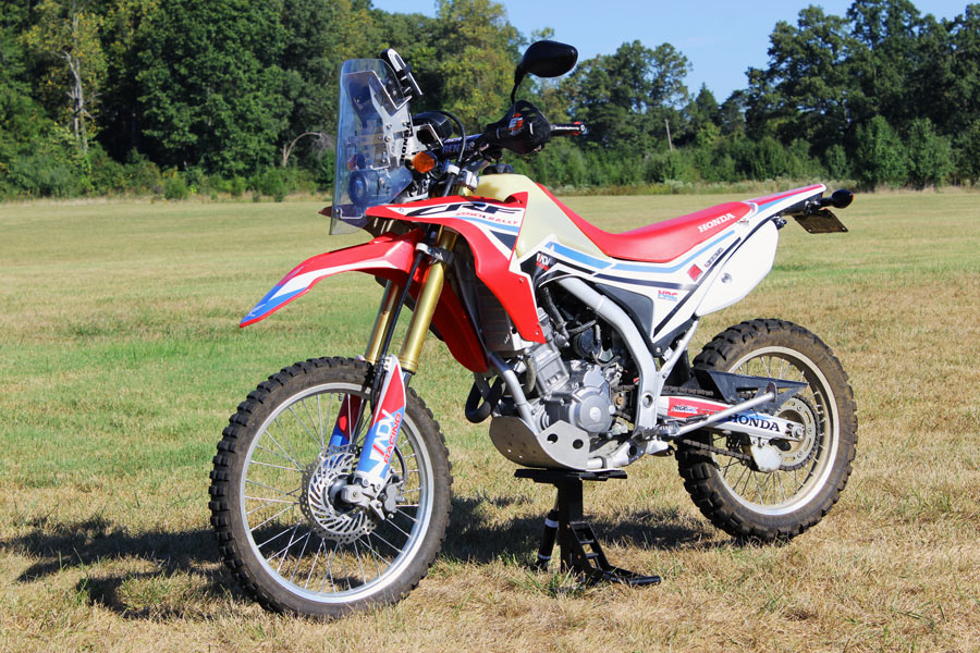 Sheep in Wolf's Clothing: Rally Kit for CRF250L - Adventure