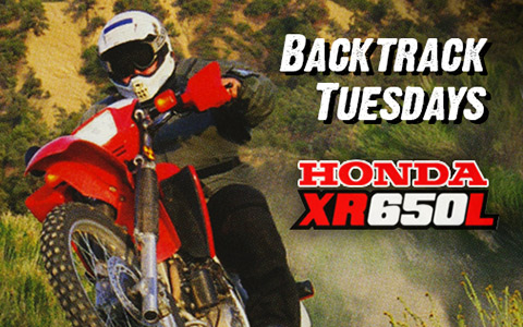 Backtrack Tuesdays - 2005 Honda XR650L - Long Run Test
