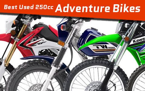 Best Used 250cc Adventure Dual-Sport Bikes