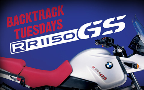 Backtrack Tuesdays: 2002 BMW R1150 GS Adventure