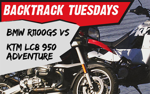 Backtrack Tuesday: BMW R1100GS vs KTM LC8 950 Adventure Review and Comparison