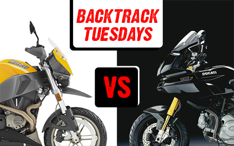 Backtrack Tuesdays: Buell Ulysses vs Ducati Multistrada