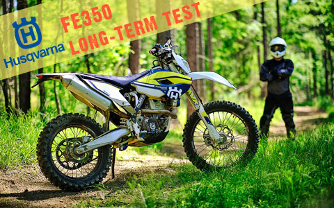 2016 Husqvarna FE350 Long-Term Test