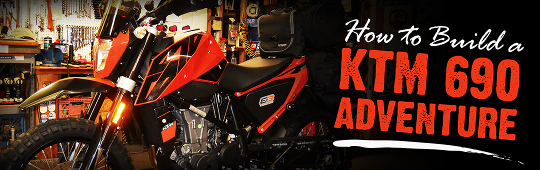How to Build a 2016 KTM 690 Duke Adventure