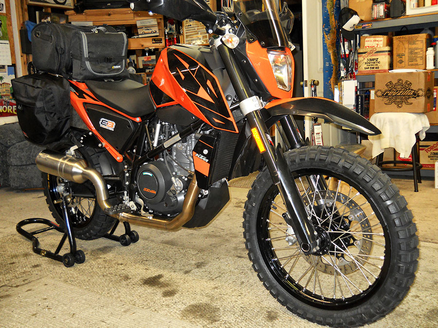 How to Build a 2016 KTM 690 Duke Adventure | Dubya USA