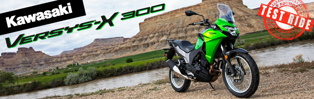 Kawasaki Versys-X 300 Test Ride and Review