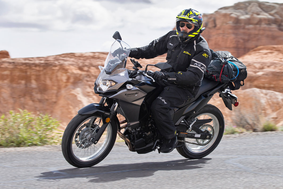 Test Ride 2017 Kawasaki Versys X 300 Review Adventure