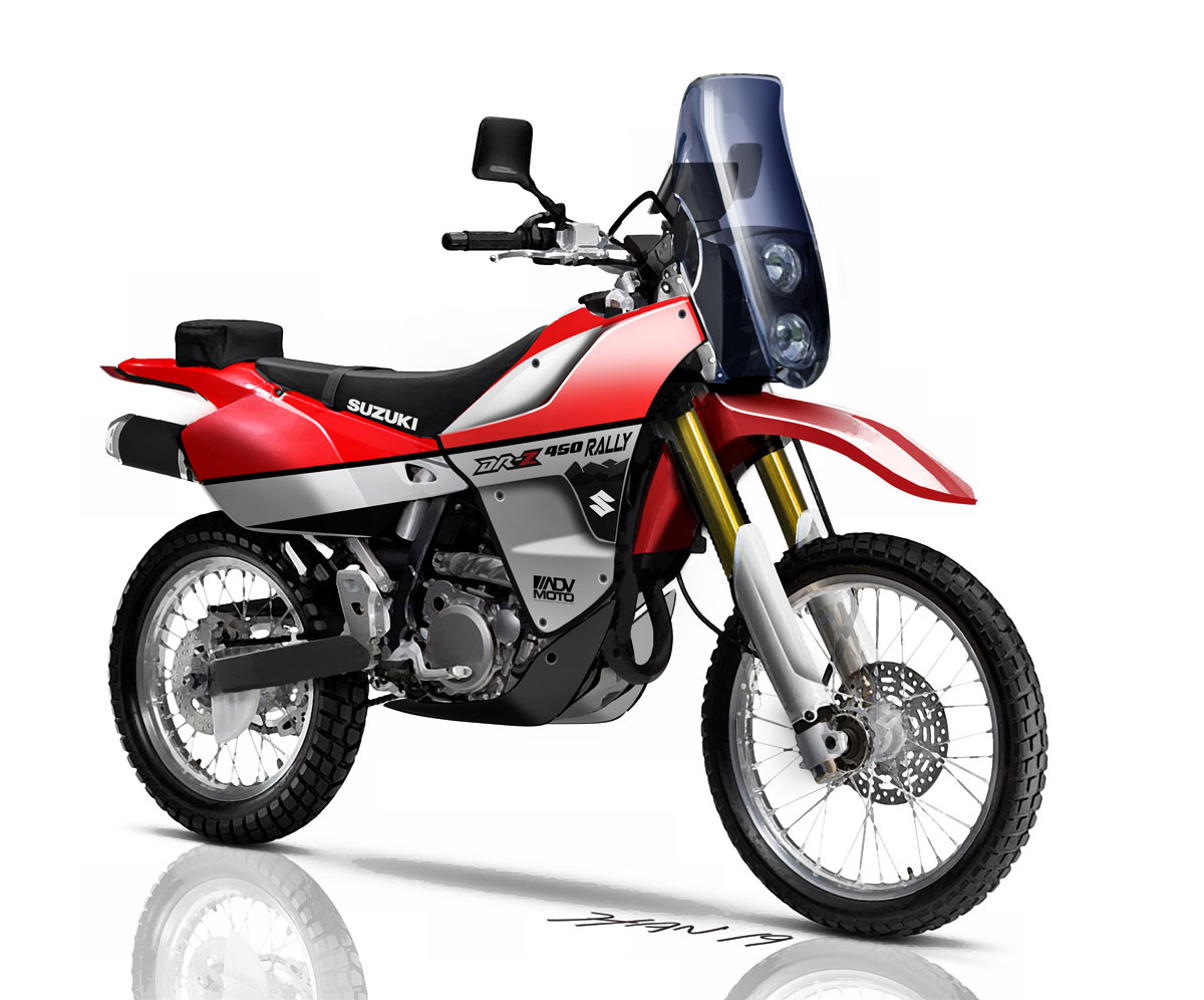 Marvelous Bike Dreaming Suzuki Dr Z 450 Rally World Concepts Gmtry Best Dining Table And Chair Ideas Images Gmtryco