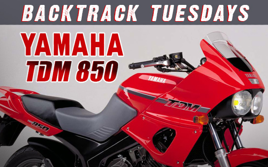 Backtrack Tuesdays: Yamaha TDM 850