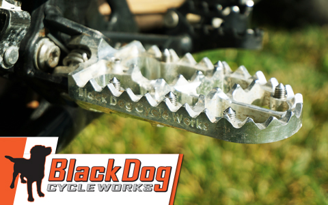 Black Dog Cycle Works Traction Footpegs Review