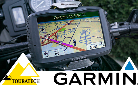 Garmin Zūmo 595LM and Touratech Locking GPS Mount