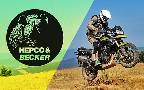 Tiger 800 Skid Plate by Hepco-Becker