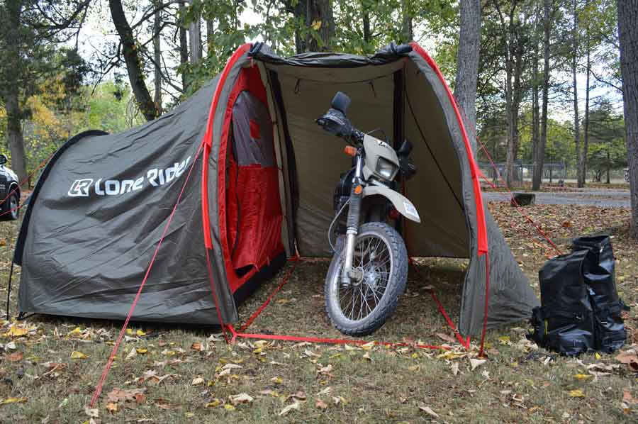gallery1 & LoneRider Moto Tent v2 | Gear | Reviews| AdventureMotorcycle.com