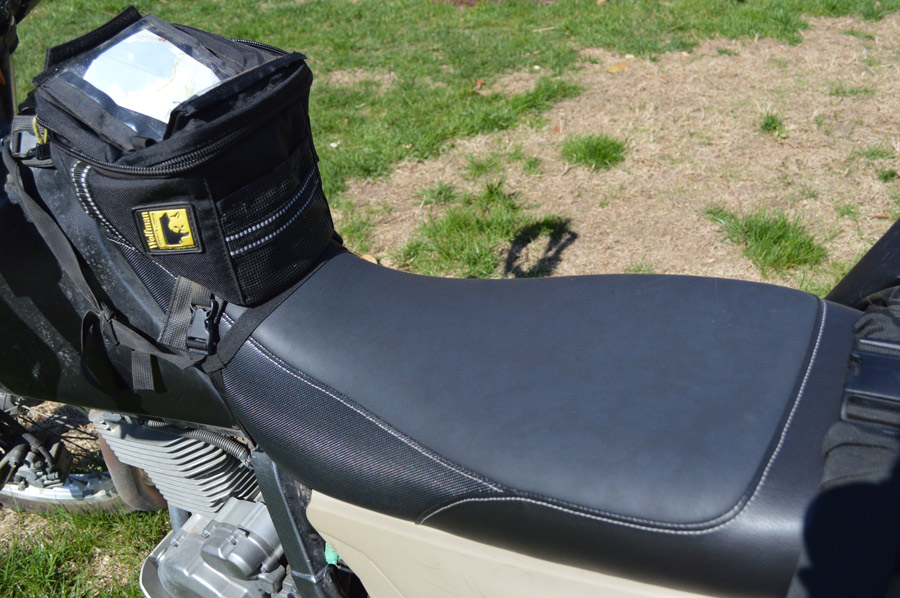 moose racing suzuki dr650 seat gear reviews adventure