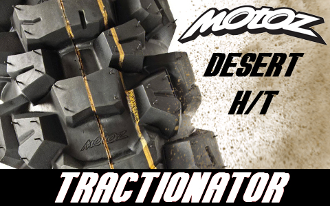 Motoz Tractionator Desert H/T Tire Review