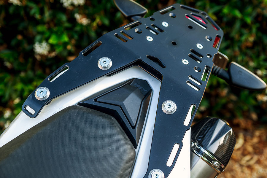 Perun moto tail rack review 2