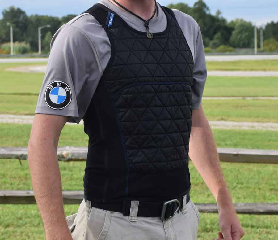 motorcycle cooling vests