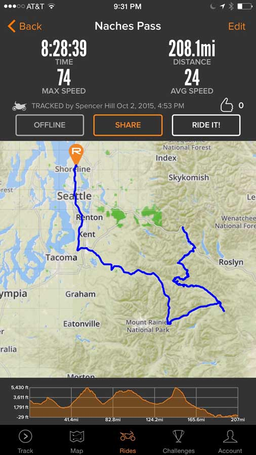 The Rever Navigation App - Gear - Reviews - Adventure Motorcycle ...