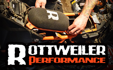 Rottweiler Performance Air Intake for the KTM 690 Enduro R
