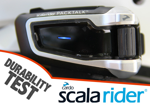 Scala Rider PACKTALK Durability Test