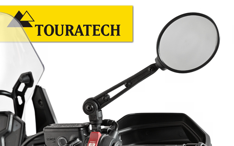 Touratech Adjustable Folding Africa Twin Mirrors Review