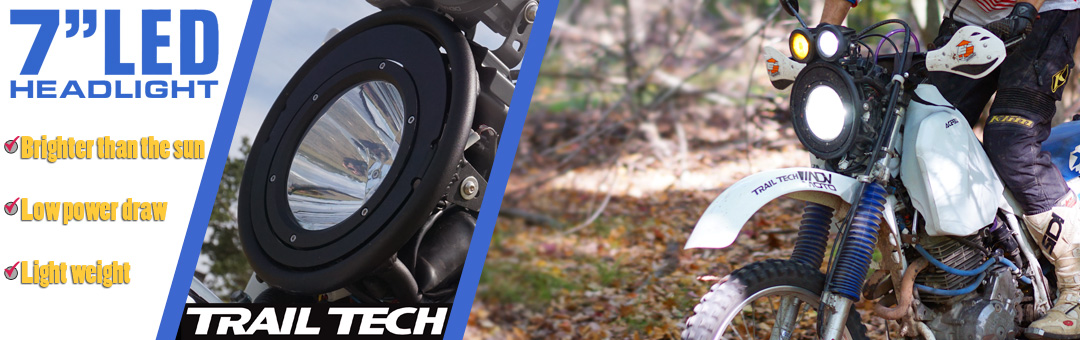Trail Tech 7-Inch LED Headlight