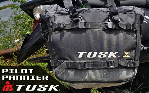 Tusk Pilot Pannier Saddlebags Review