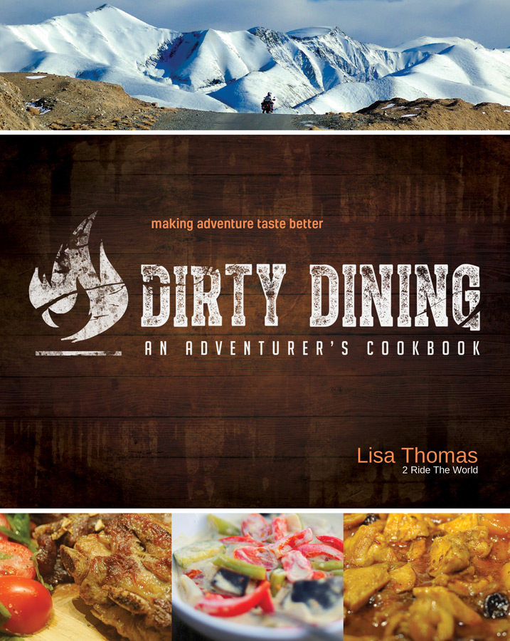 Dirty dining a cookbook by lisa thomas of 2ridetheworld news dirty dining by lisa thomas of 2ridetheworld forumfinder Image collections