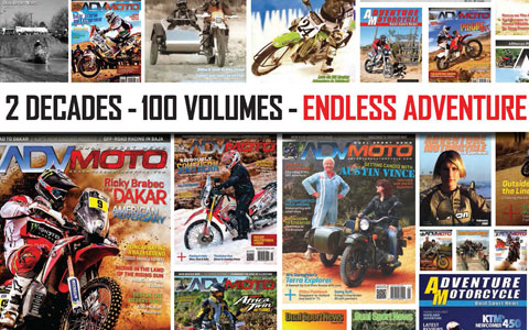 Adventure Motorcycle Magazine Celebrates 100th Edition