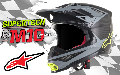 First Look: Alpinestars S-M10 Off Road Helmet