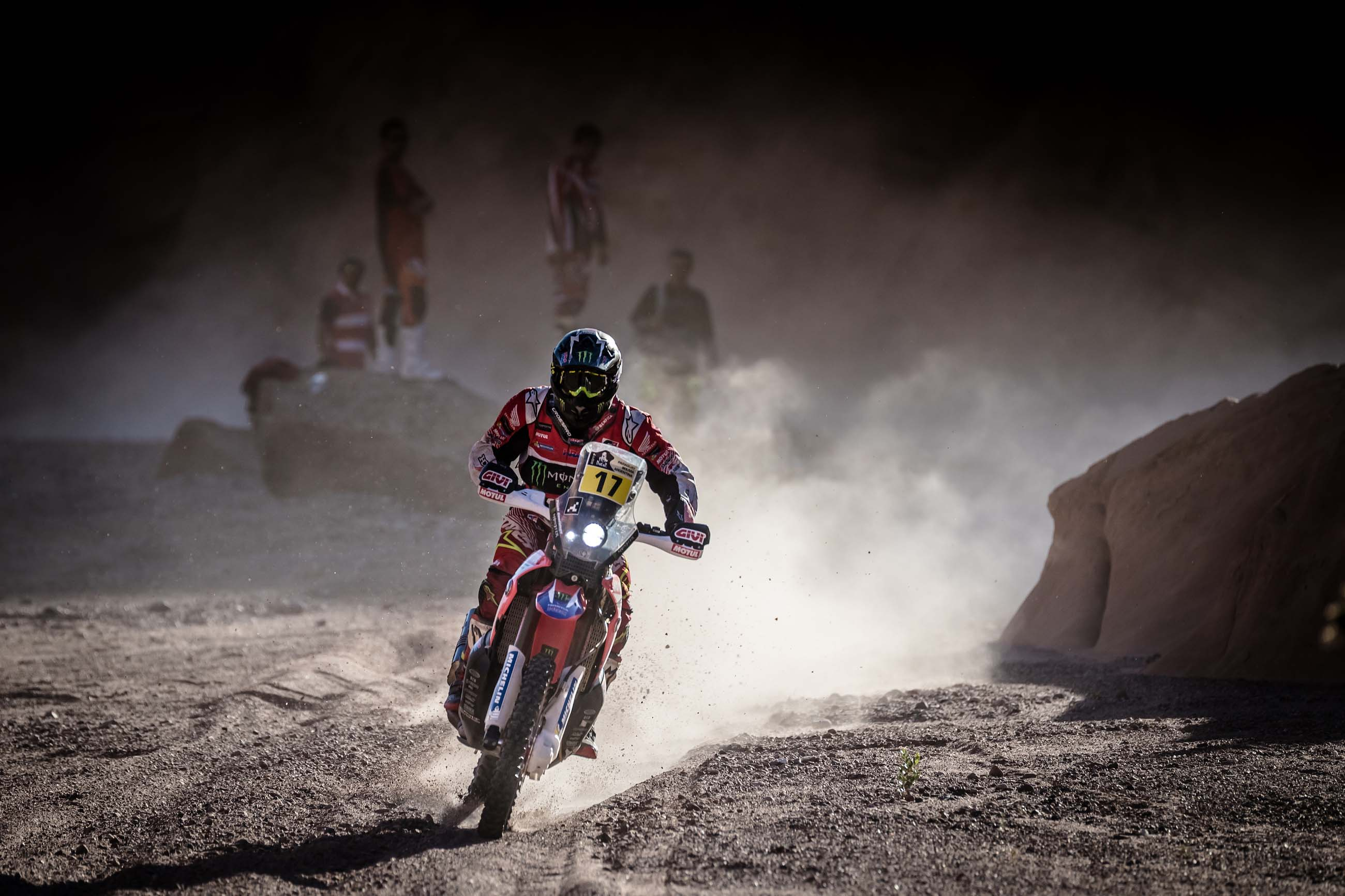 2017 Dakar Rally Stage 10 Honda 20