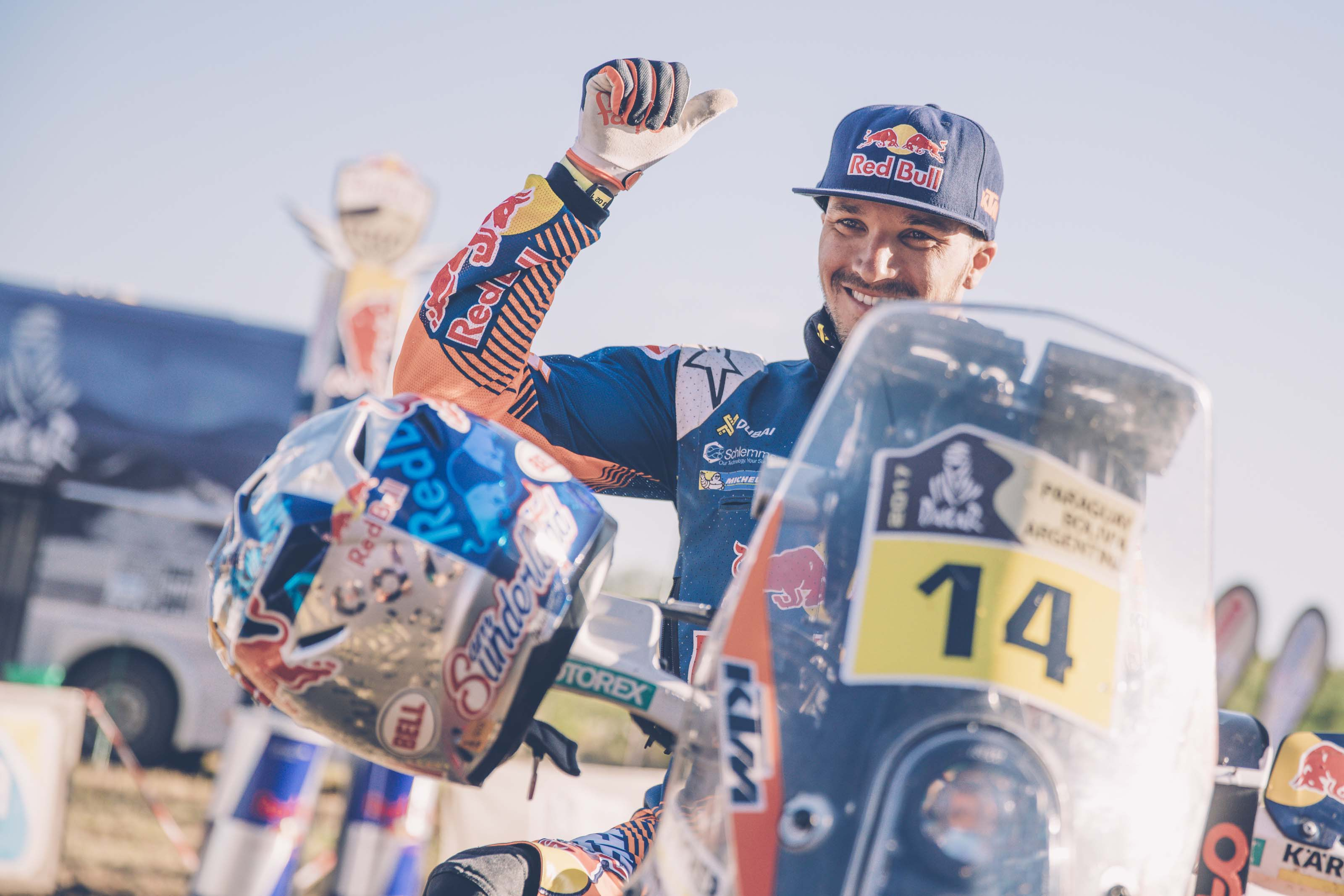 Sam Sunderland KTM Dakar Rally Red Bull 04