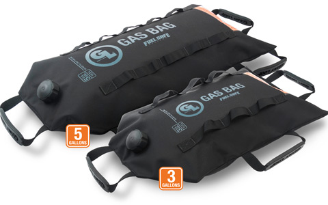 Giant Loop Adds More Capacity Options for Gas Bag Fuel Safe Bladders