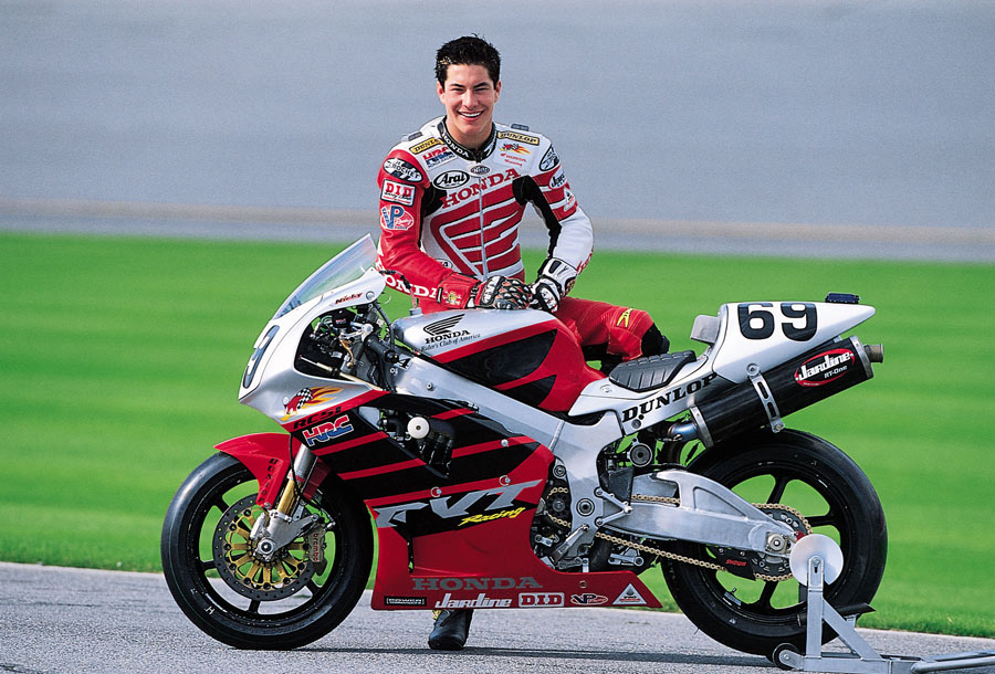 Nicky Hayden 2002 AMA Superbike 2