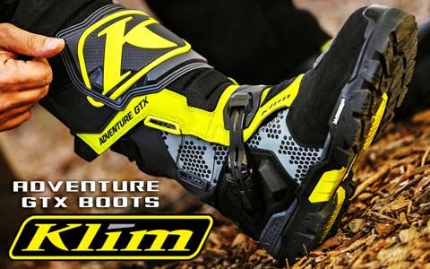 New KLIM Adventure GTX Boots Finally Announced