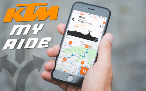 KTM MY RIDE: TAKING MOTORCYCLE CONNECTIVITY PLACES