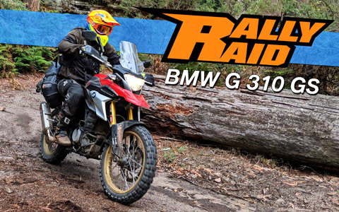 BMW G310GS Adventure Upgrades from Rally Raid Products