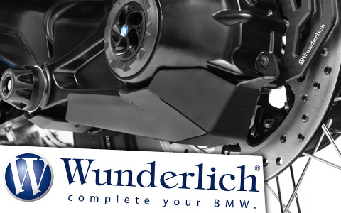 Wunderlich Final Drive Protection Plate for BMW GS, R, RS and RT Motorcycles